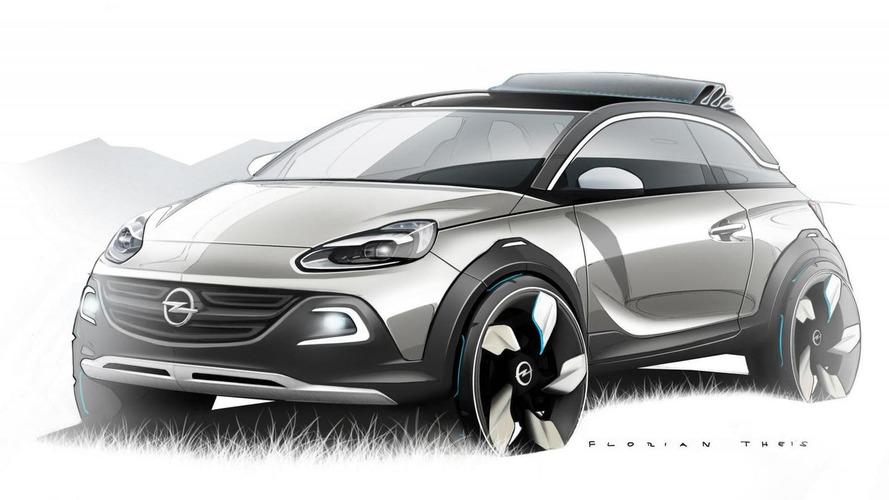 Opel ADAM ROCKS Concept previewed before Geneva launch