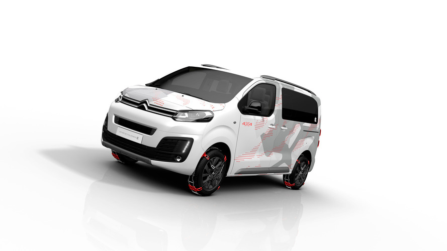Citroën SpaceTourer 4x4 Ë : le ludospace à quatre roues motries