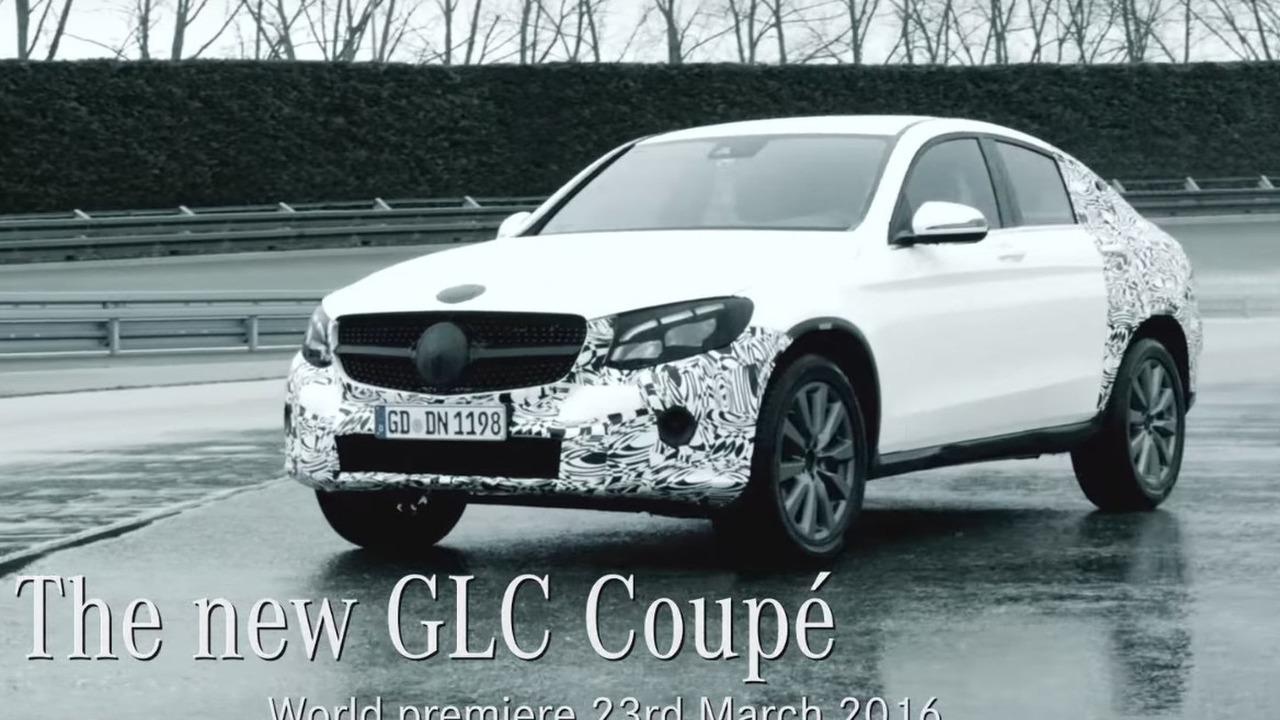 Mercedes GLC Coupe teaser image