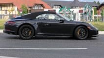 Porsche 911 GTS Spy Shot