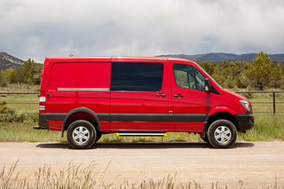 The 4x4 Van Market is a Tiny Niche, But You Do Have Options