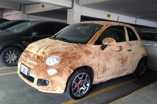 There's a Furry Fiat 500 Roaming Argentina