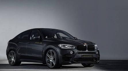 Manhart dials BMW X6 M to 700 hp
