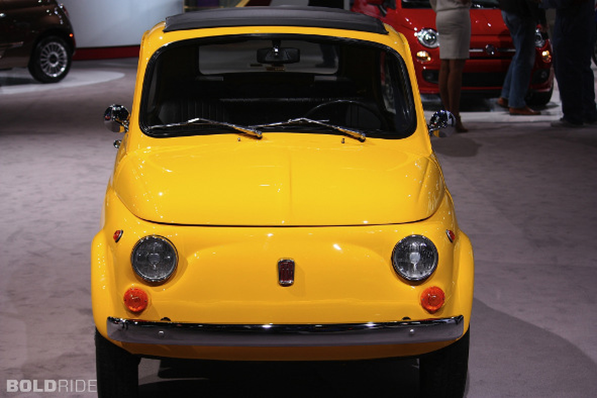 Musing on the Timelessness of the Fiat 500