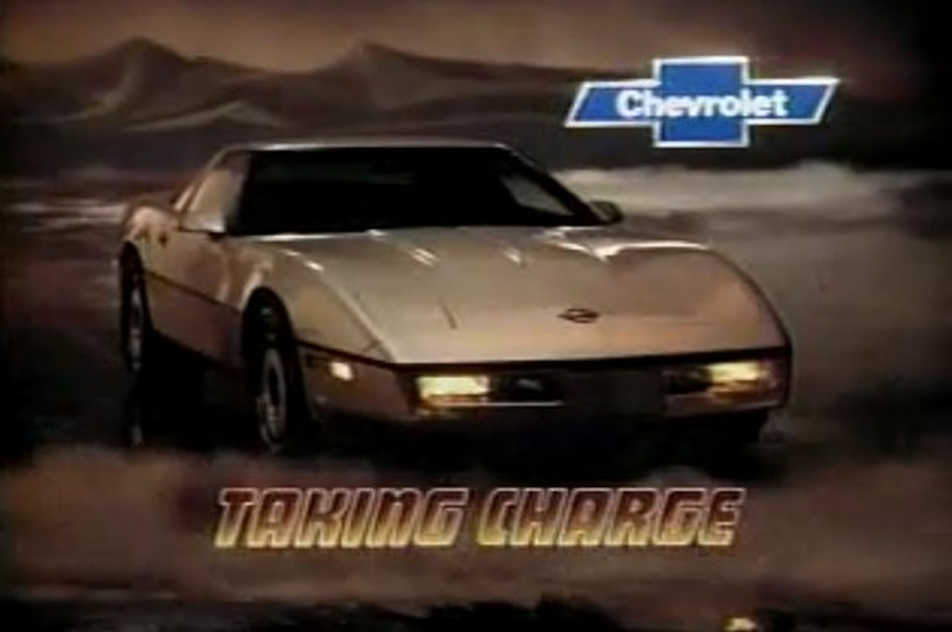 Retro Vid: Super Epic 1984 Chevrolet Corvette Commercial