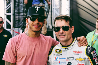 F1 Star Lewis Hamilton Hints at Driving NASCAR in the Future