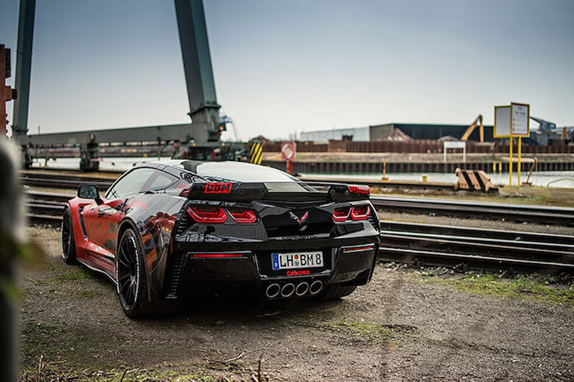 C7 Corvette Z06 By BBM Motorsport Cranks Up The Crazy