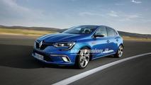 Renault Megane first official images leaked!