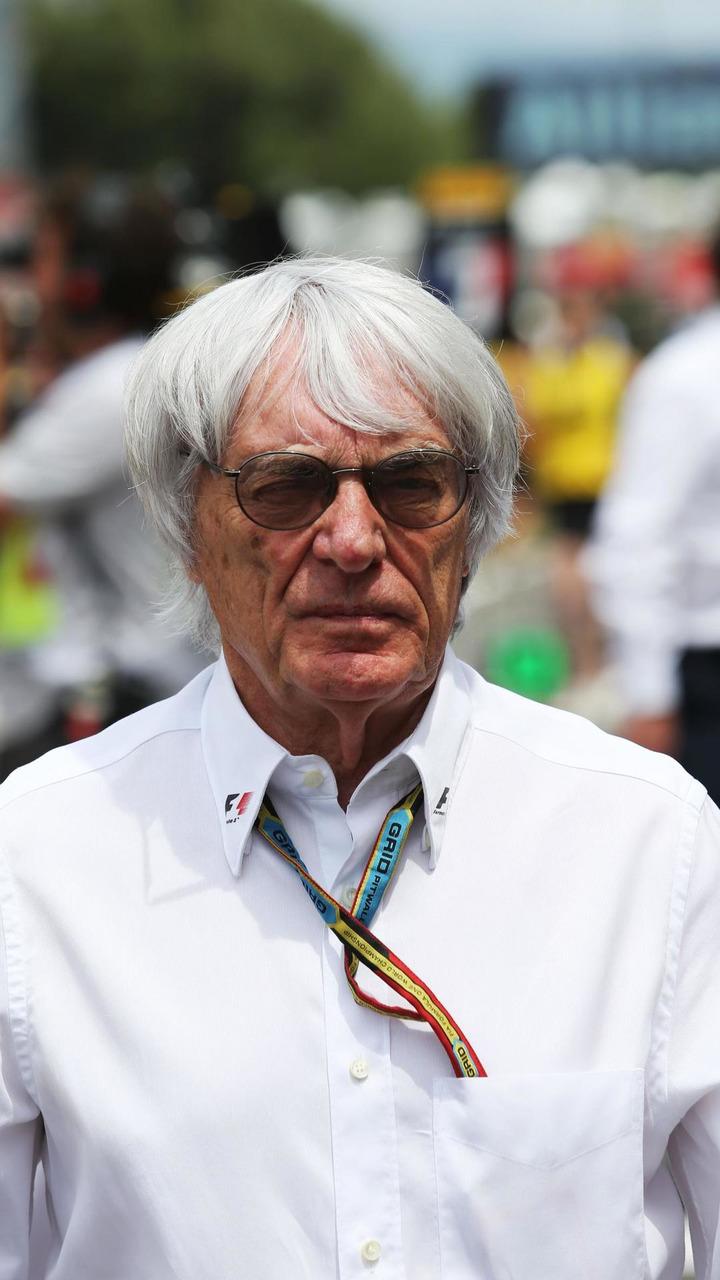Bernie Ecclestone (GBR) on the grid, 11.05.2014, Spanish Grand Prix, Barcelona / XPB
