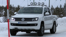 2014 Volkswagen Amarok spy photo