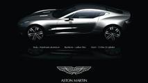 Aston Martin Prepares New One-77 Supercar