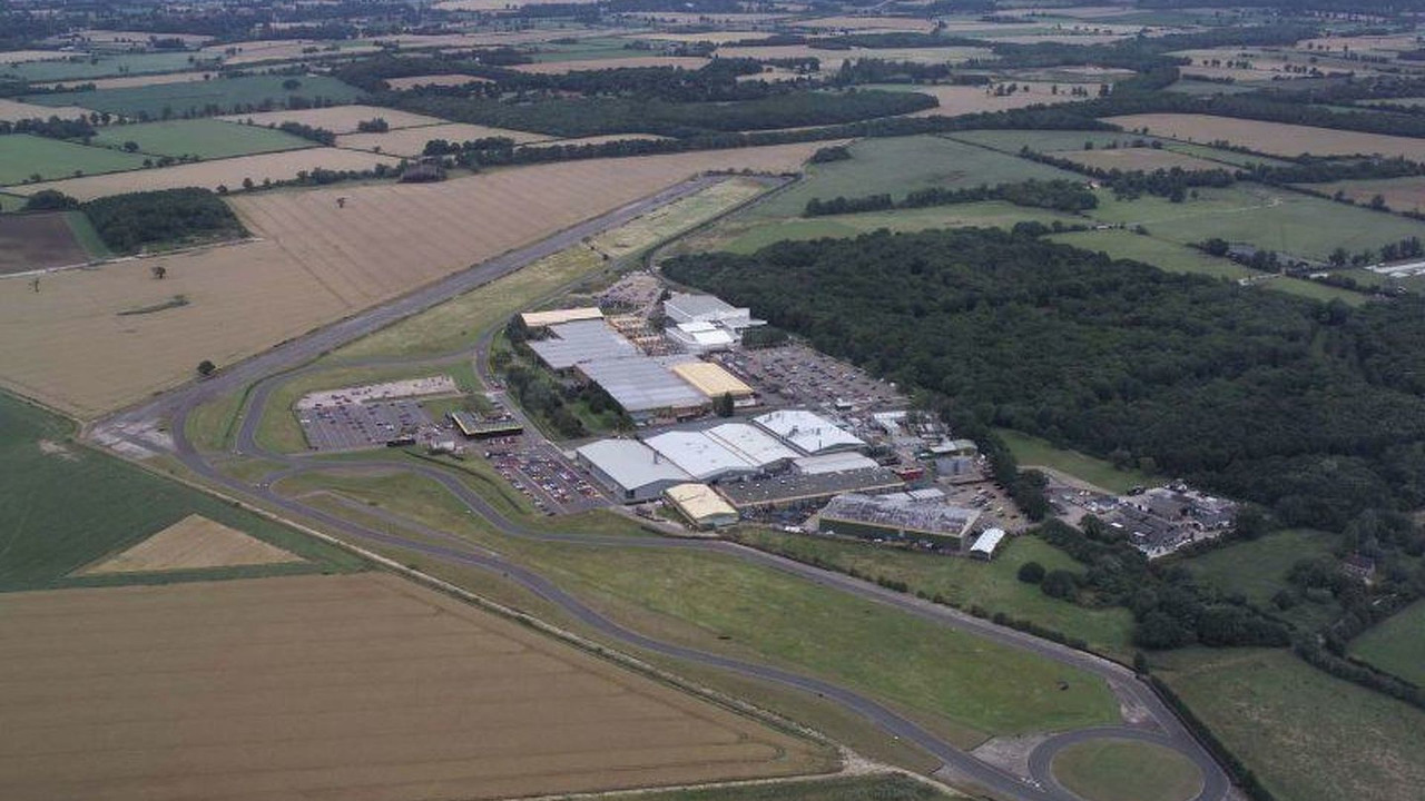 Group Lotus Headquarters at Hethel, Norfolk, UK