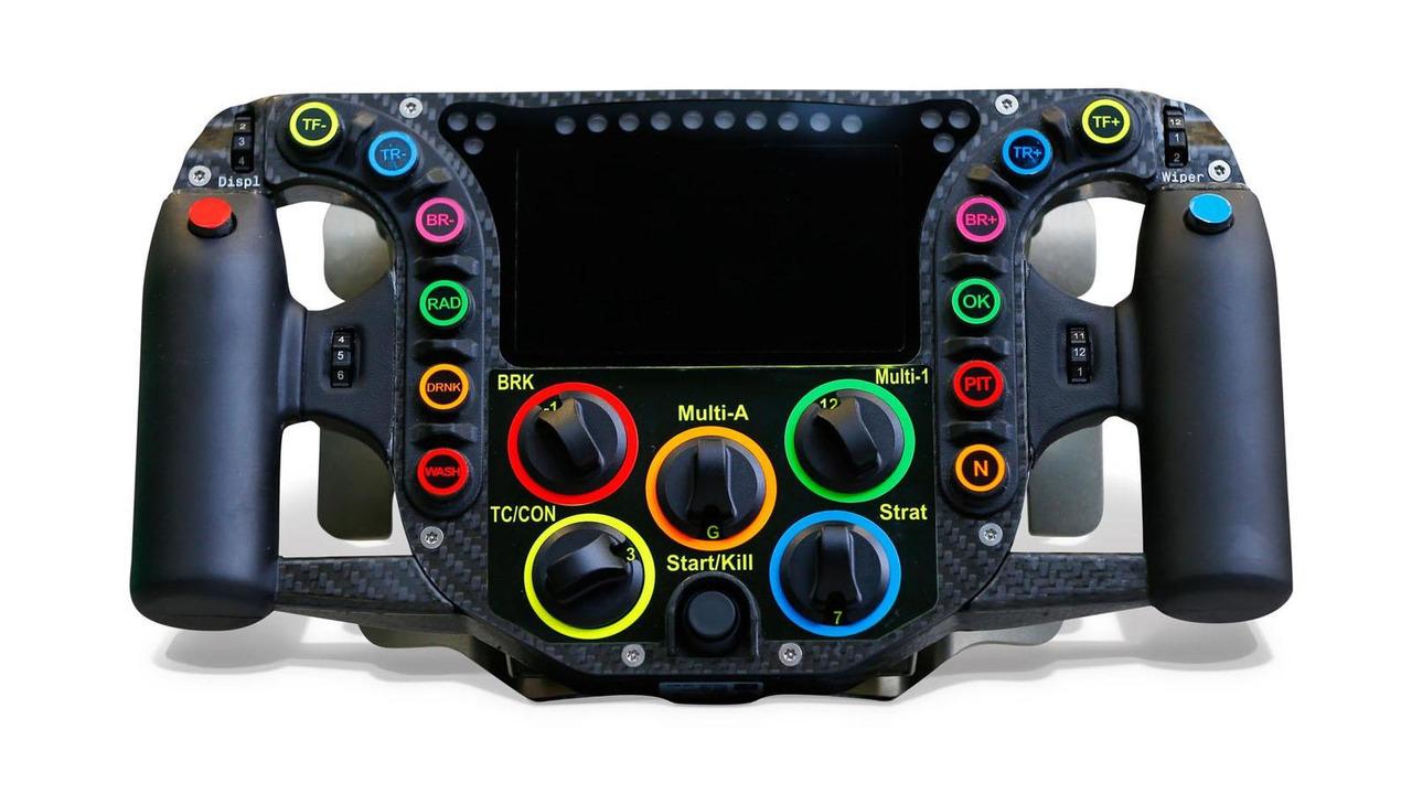 Porsche 919 Hybrid steering wheel