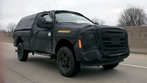 2016 Ford Super Duty spy photo