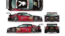 Edoardo Mortara (Playboy Audi A5 DTM) 21.3.2012