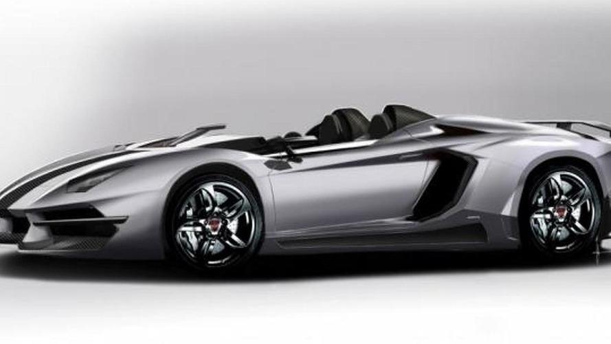 Prindiville envisions a Lamborghini Aventador J tuning kit