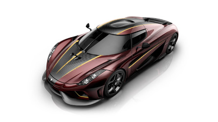 Koenigsegg's second Regera design is a nod to French red wine
