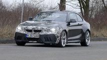 2018 BMW M2 facelift spy photo