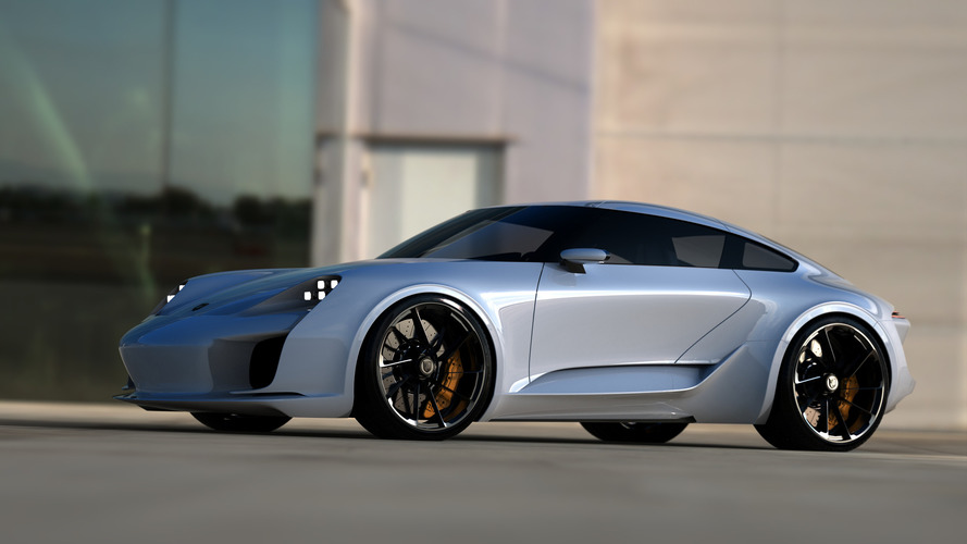 Bugatti Chiron designer re-imagines the Porsche 911