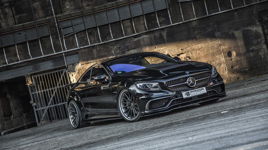 Tuned Mercedes S-Class Coupe is less elegant, more aggressive
