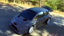 Toyota Yaris WRC Testing