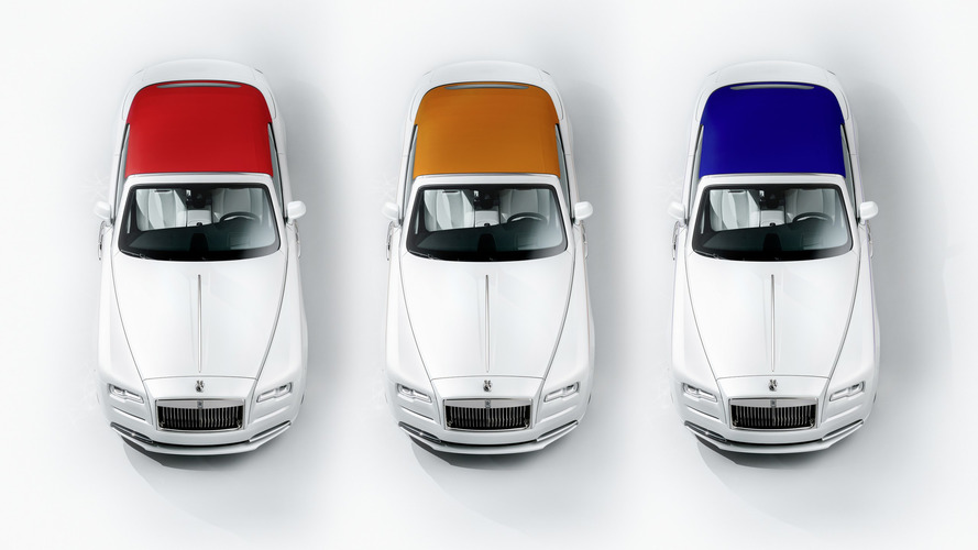 Rolls-Royce Dawn special edition wants to make a fashion statement