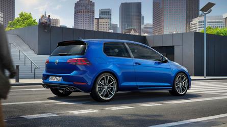 2017 Volkswagen Golf R facelift