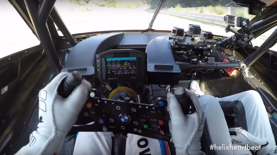 BMW M4 DTM takes a slow-not-slow lap of the 'Ring