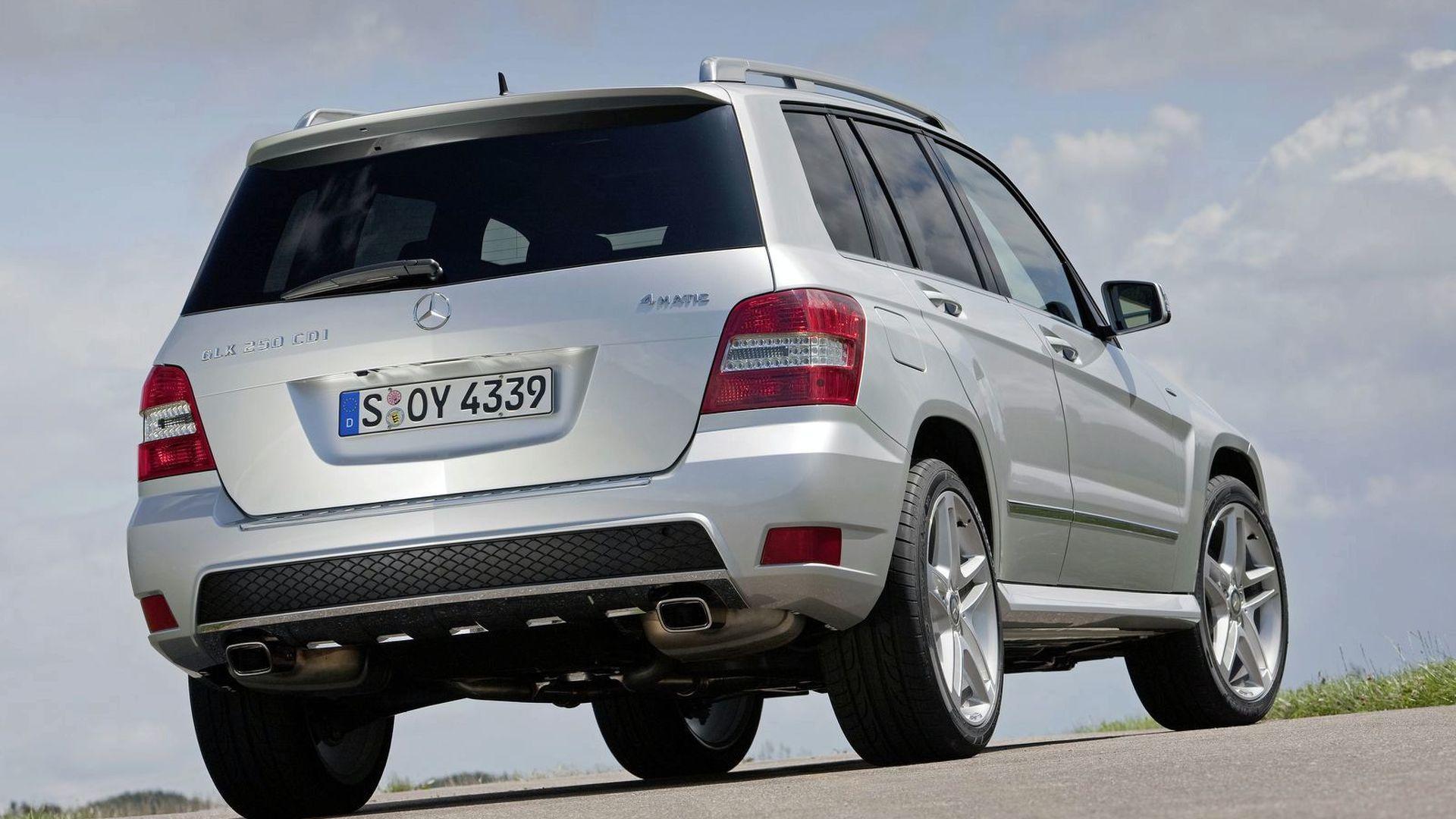 Mercedes Adds Two GLK BlueEFFICIENCY Models to Range
