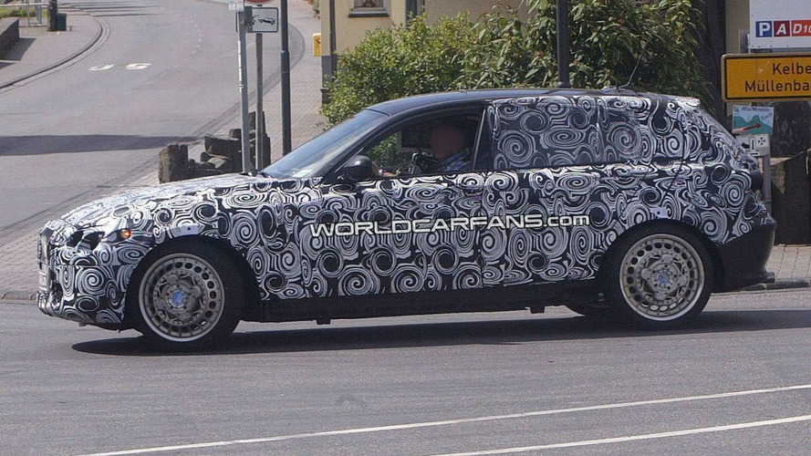 2011 BMW 1-Series spied with all-wheel xDrive?