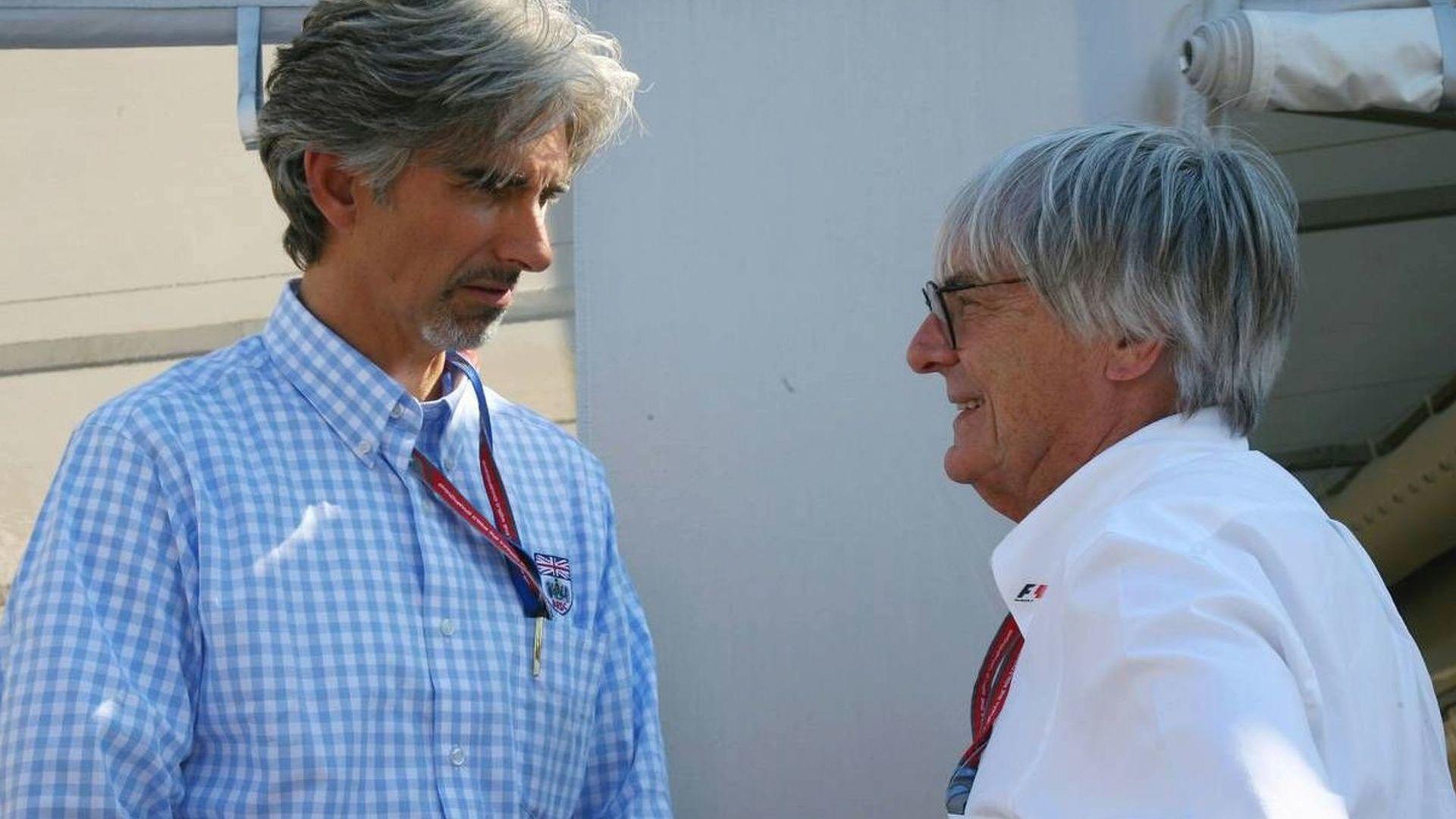 Ecclestone denies reviving Donington GP bid