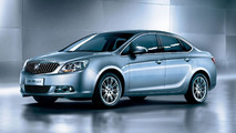 Buick Excelle GT sedan initial details officially released for China