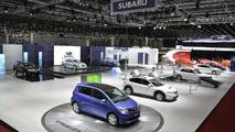 Subaru Trezia live in Geneva - 2.3.2011