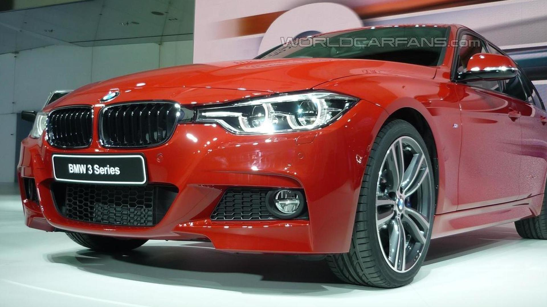 2015 bmw 3 series facelift goes official with three. Black Bedroom Furniture Sets. Home Design Ideas