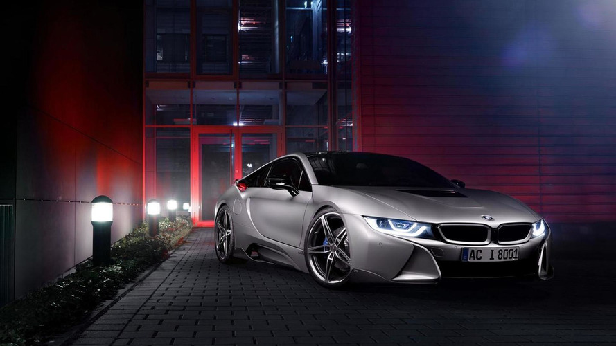 BMW i8 gets a modest makeover by AC Schnitzer [video]