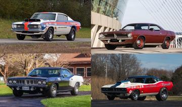 4 Historic Hemi Cudas Are Headed to Auction