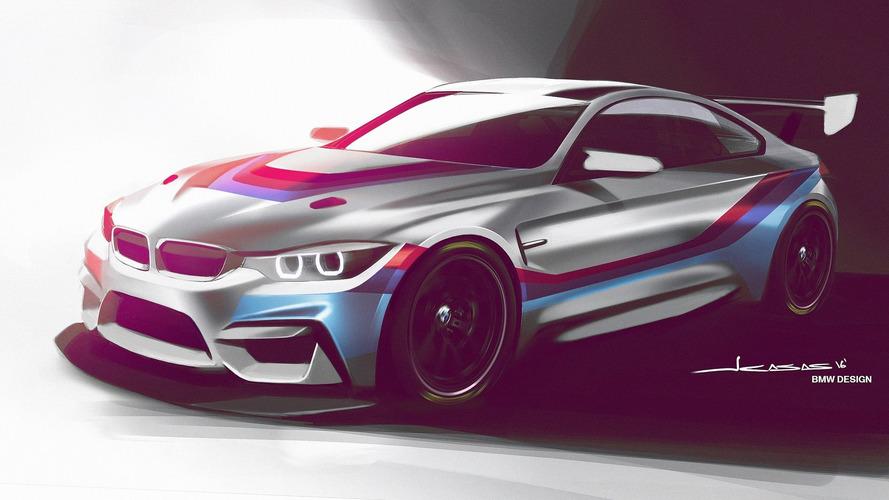 BMW va lancer la M4 GT4 en 2018