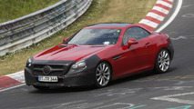 2016 Mercedes-Benz SLC spied hiding minor cosmetic revisions