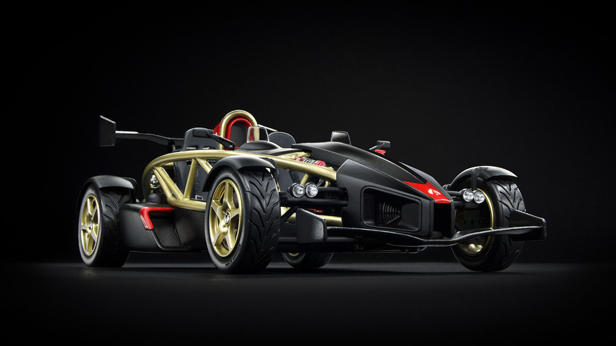 Park this crazy-detailed Ariel Atom V8 on your desk