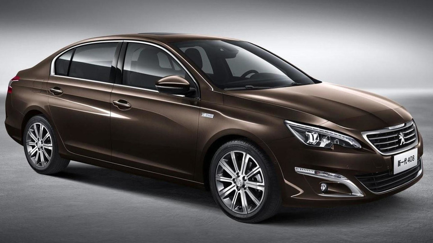 Peugeot 408 Sedan revealed, debuts at Auto China