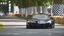 McLaren P1 at Goodwood 15.7.2013