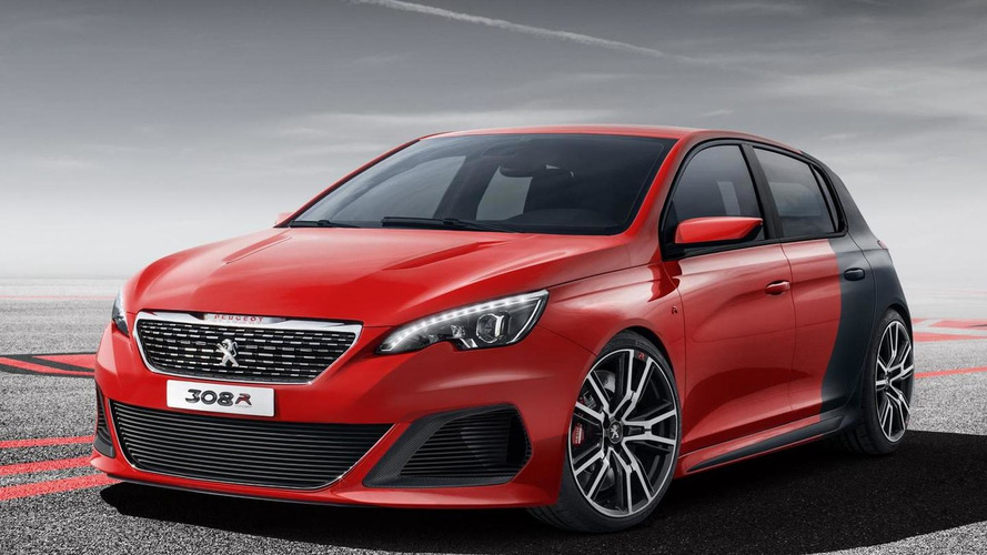 Peugeot 308 R Concept leaked