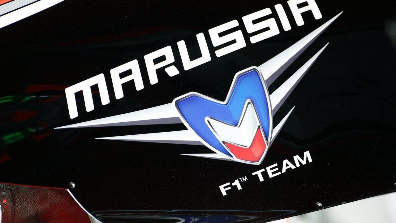 Marussia F1 Team logo 11.05.2012 Spanish Grand Prix