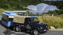Land Rover Electric Defender prototype 31.7.2013
