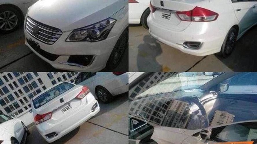 Suzuki Authentics production variant spied undisguised in China