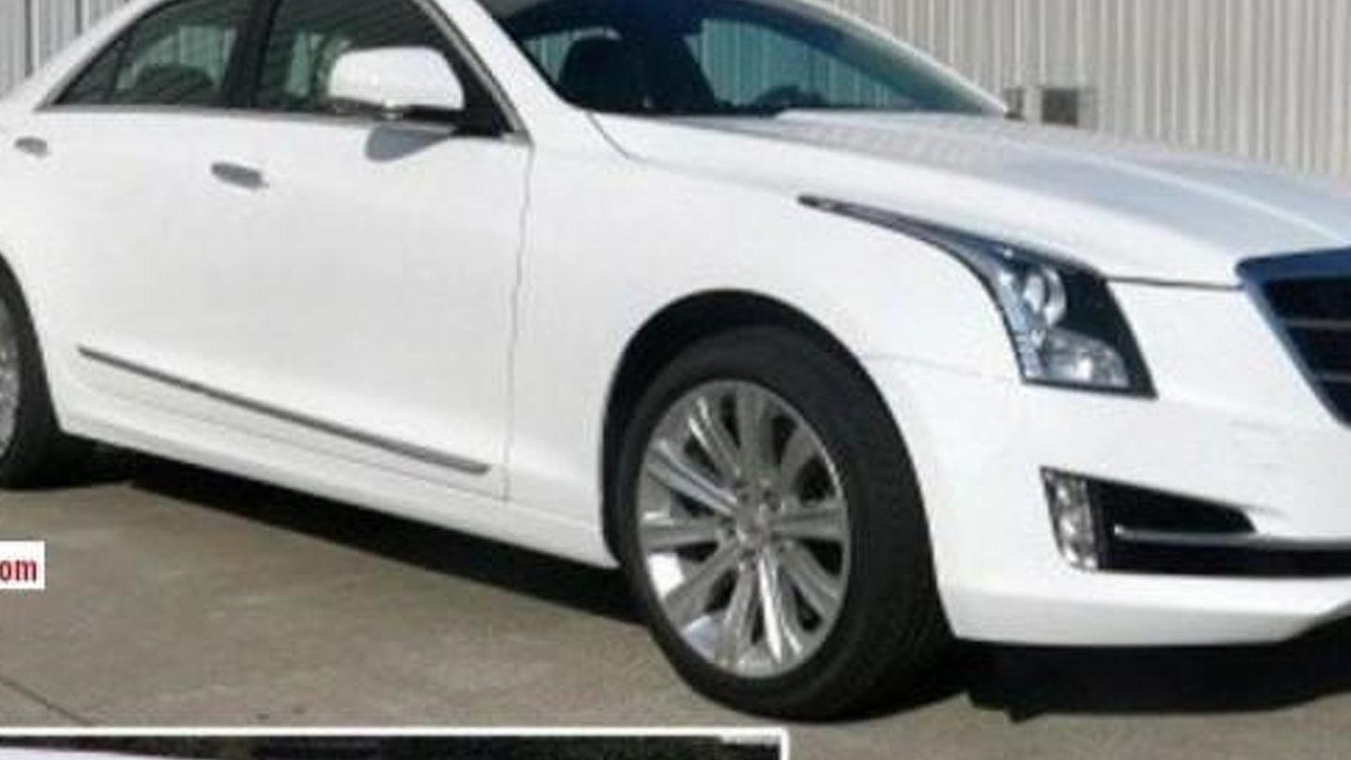 Cadillac ATS-L spied completely undisguised
