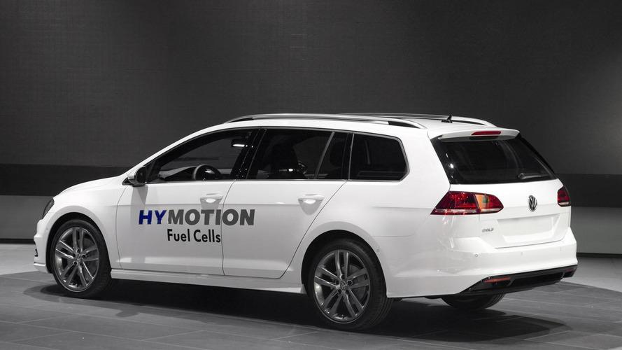 Volkswagen Golf SportWagen HyMotion debuts in L.A. [video]