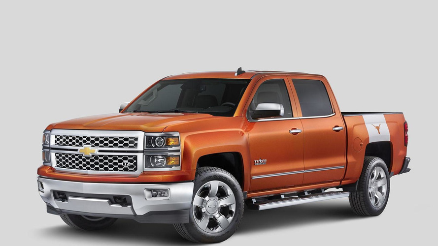 Chevrolet Silverado University of Texas Edition unveiled