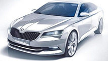 All-new Skoda Superb set to debut on February 17
