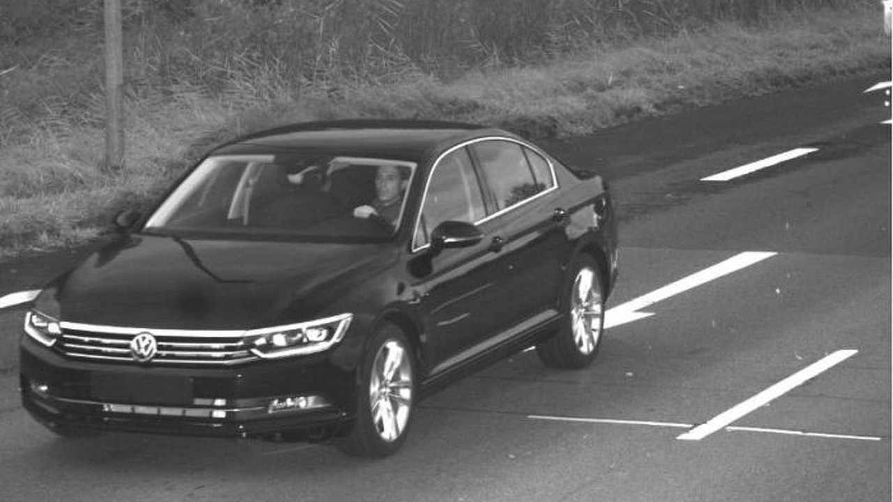 Suspected Volkswagen Passat theif